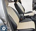 Авточехлы полностью экокожа с двойной строчкой для Audi Q-5 Sport 2008- г., фото 6