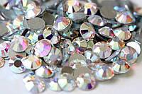 Стразы Swarovski для ногтей ss6 crystal AB (2 мм) 50 шт