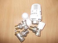Радиаторные краны и термоголовки