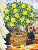 """Схема для вышивки бисером """"Лимоновое деревце"""""""