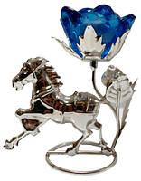 Подсвечник металл лошадь 1640-а