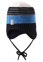 Шерстяная шапка для мальчика Reima 518369-6980. Размер 48-54.