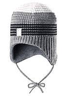 Шерстяная шапка для мальчика Reima 518369-9400. Размер 48-54.