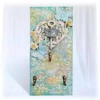 Настенная ключница или вешалка для полотенец на кухню Подарки для дома на 8 марта