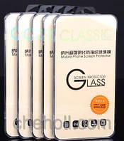 Защитное стекло пленка для телефона смартфона на экран 4.0 дюймов