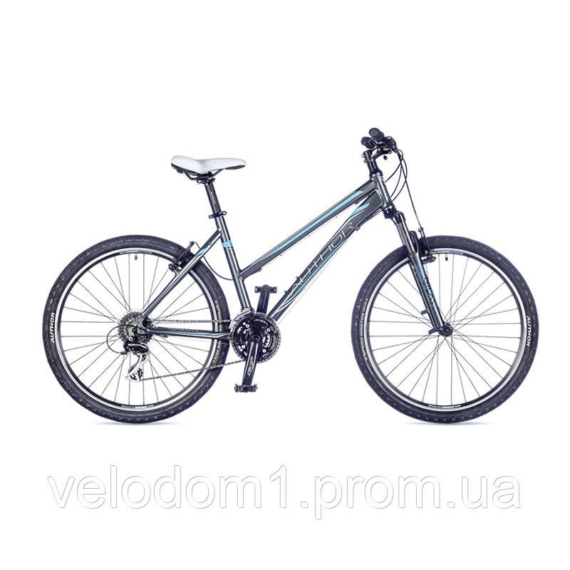 "Велосипед Author 26"" Quanta серая (18"" 2016)"