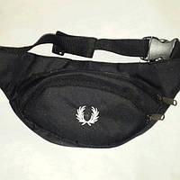 Поясная сумка бананка Frеd Реrry, Фред Пэрри черная ( код: IBS066B ), фото 1