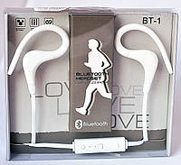 Наушники Bluethooth Stereo BT- 1 white
