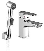 Смеситель для умывальника с гигиеническим душем Ravak BM 011.00