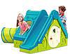Детский домик с горкой Keter Funtivity