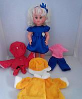 Кукла Милана с комплектом одежды (4 сезона) дидактическая