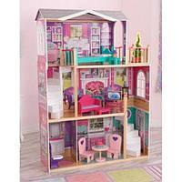 Дом для кукол KidKraft Elegant 18-Inch Doll Manor 65830