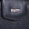 Жіночий гаманець з натуральної шкіри Desisan Shi731-1-2fl чорний, фото 5