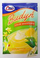 Пудинг с ванильным вкусом сухой десерт концентрат 41 гр Emix Польша