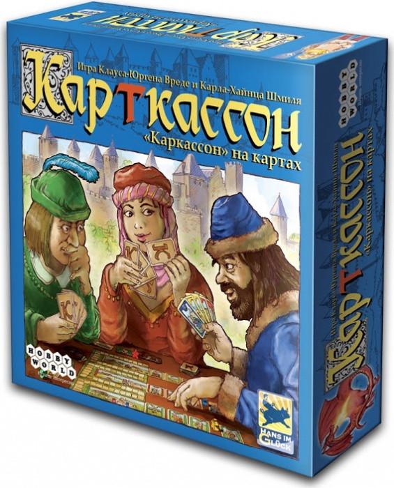 Настольная игра КарТкассон (Cardcassonne) Рус. TM Hobby World