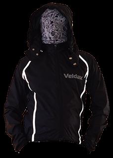 Куртка (б/п) Veldax черная с оранжевым182-100