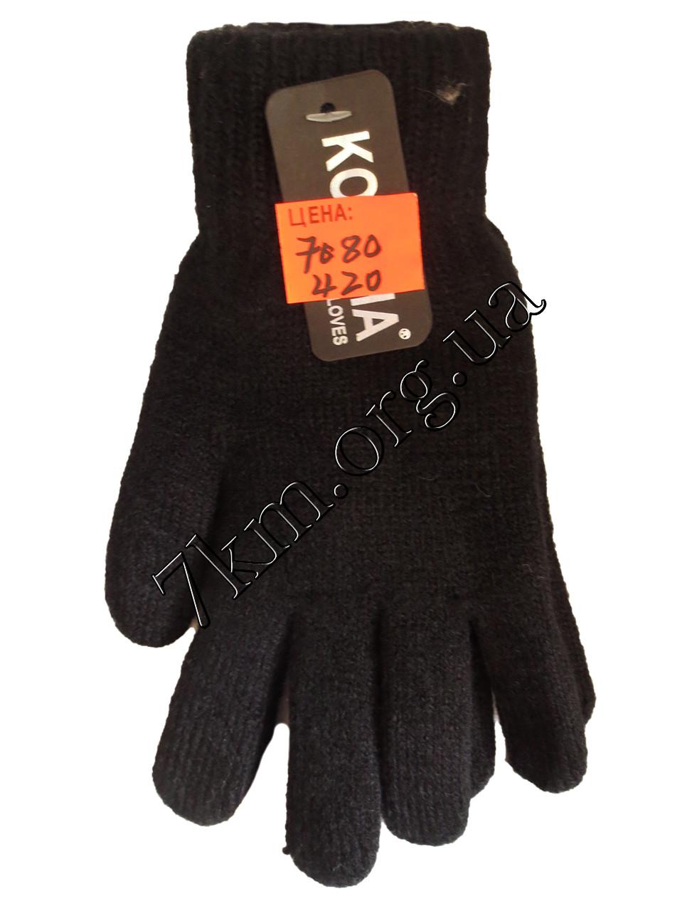 """Перчатки подростковые для телефона от 8 лет """"Gloves"""" одинарные Оптом"""