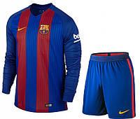 Футбольная форма Барселоны с длинным рукавом, новый сезон 2016-2017