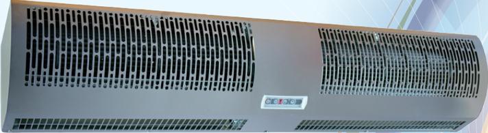 Повітряна теплова електрична завіса Neoclima Intellect E18 X, фото 2
