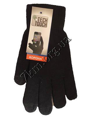 """Перчатки подростковые для телефона от 8 лет """"Tech touch"""" одинарные (Розница)"""