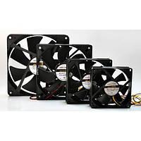 Вентилятор корпусной LogicPower F8B, 4pin (Molex питание)