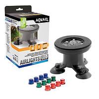 Aquael AIRLIGHTS аквариумный распылитель с подсветкой LED