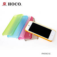 Чехол для iPhone 5C - HOCO Ultrathin transparent cover, разные цвета