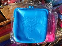 Сумки Chanel 18см*20см-силикон. голубая