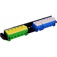 Утримувач з клемами PE/N: 19xN+17xPE / 5xN+5xPE VZ463
