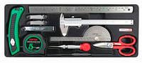 Набор мерительного инструмента Toptul GCAT1101, 11 ед. (GCAT1101)