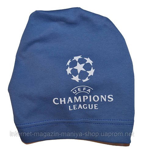 Шапка детская на мальчика UEFA