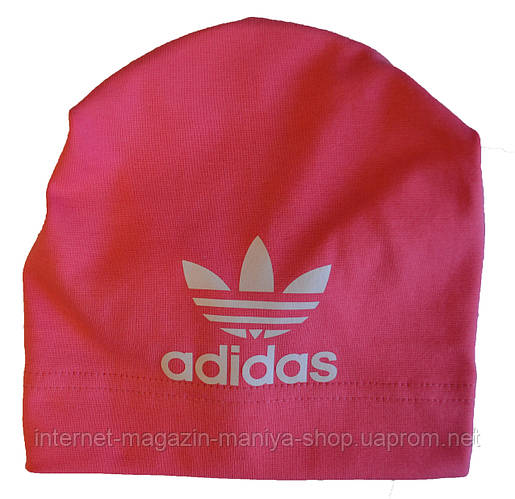 Шапка детская на девочку Adidas