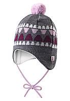 Зимняя шапка для девочки Reima 518378-5000. 40-44.