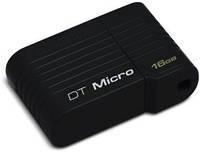Флеш-драйв Kingston DataTraveler Micro 16 GB Black