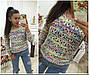 Женский свитер - вязка, Турция, 0011, фото 2
