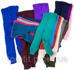 Детские шерстяные гамаши (лосины), для девочки, на рост 104 - 110 см (размер 32),, фото 3