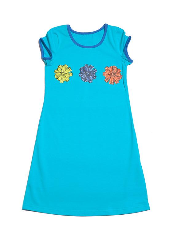 Хлопковая ночная рубашка для девочки