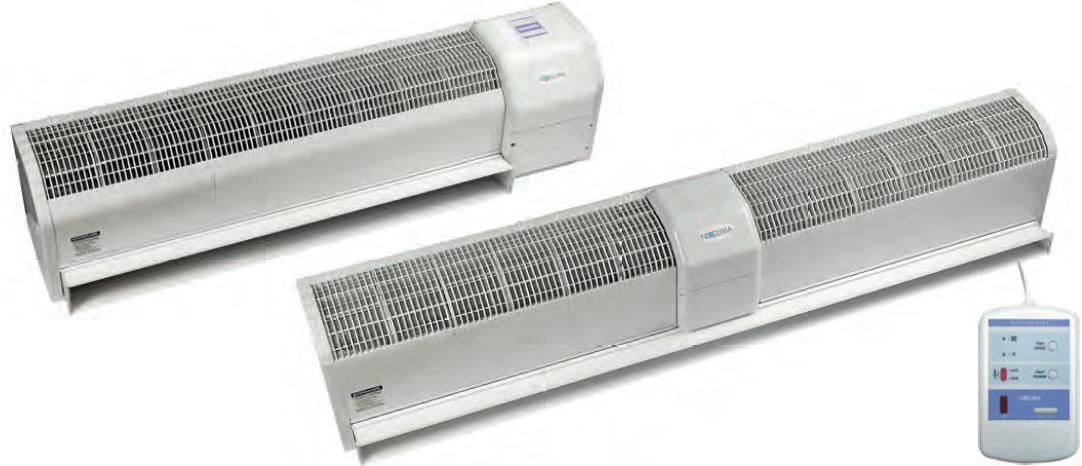 Тепловая электрическая завеса Neoclima Intellect E 37 IOB