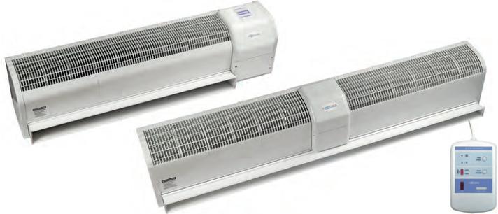 Тепловая электрическая завеса Neoclima Intellect E 37 IOB, фото 2