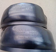 Подкрылки Мицубиши L200 / MITSUBISHI L 200, 2005-2015 4 поколение комплект 4шт.