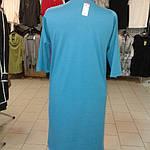 Платье женское  синее баллон  трикотажное на полную фигуру пл 099-2, фото 8