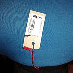 Платье женское  синее баллон  трикотажное на полную фигуру пл 099-2, фото 7