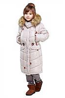 Зимняя куртка для девочки Микаэлла 116-158 рр