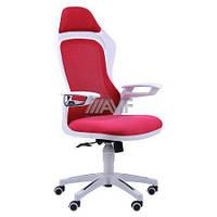 Кресло Spider GTX сетка красная, каркас белый