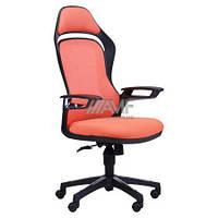 Кресло Spider GTX сетка оранжевая, каркас черный