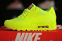 Nike Air Max 90 Hyperfuse Volt Yellow кроссовки Найк