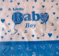 """Салфетки праздничные """"Baby boy"""""""