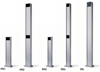 Стойка алюминиевая PPH4 1 м для фотоэлементов (NICE)
