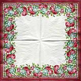 Салфетки декупажные Красивый розовый кант 6179, фото 2