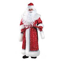 Новогодний костюм Дед Мороз прокат Киев